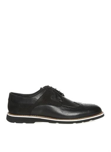 Divarese Divarese Erkek Deri Siyah Günlük Ayakkabı Siyah